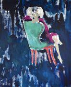 <p>Rebekka Steiger, <em>untitled</em>, 2017, oil on canvas, 240 x 200 cm</p>