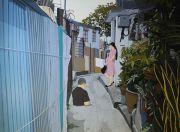 """<p isrender=""""true"""">Chen Fei, <em isrender=""""true"""">Bad Days</em>, 2014, acrylic on linen,180 x 240 cm</p>"""