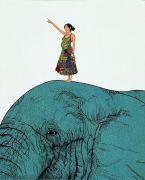 """<p isrender=""""true"""">Chen Fei, <em isrender=""""true"""">Go</em>, 2006, acrylic on linen, 100 x 80 cm</p>"""