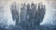 """<p>Meng Huang,&nbsp;<em isrender=""""true"""">People</em>,&nbsp;2011, oil on canvas, 220 x 400 cm</p>"""