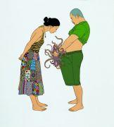 """<p isrender=""""true"""">Chen Fei, <em isrender=""""true"""">A Famous Painting</em>, 2008, acrylic on linen, 200 x 180 cm</p>"""