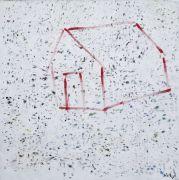 "<p>Xie Nanxing, <em isrender=""true"">Postcard No. 6</em>, 2015, oil on canvas, 220 &times; 220 cm</p>"