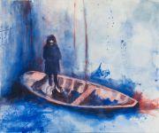 <p>Rebekka Steiger, <em>Nous e&ucirc;mes des orages</em>, 2016, oil on cotton, 200 x 240 cm</p>