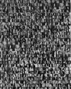 <p>Anatoly Shuravlev, <em>52000 faces</em>, 2018, c-print, 195 x 176 cm, edition of 2, detail</p>