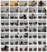 <p>Hu Qingyan, <em>Narrative by a Pile of Clay 81-120</em>,&nbsp;2012-2013, c-prints, unique set of 40 photos, each 20 x 30 cm</p>