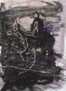 <p>Rebekka Steiger, <em>untitled</em>, 2018, gouache and pastel on paper, 54 x 39 cm</p>