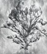 <p>尤莉亚&middot;斯坦纳,<em>untitled II</em>,2019,纸上水粉,160 x 140 cm</p>