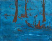 <p>Rebekka Steiger,<em> untitled</em>, 2018, oil, tempera and pastel on canvas, 100 x 125 cm</p>