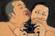 """<p>Chen Fei, <em isrender=""""true"""">Addiction</em>, 2013, acrylic on linen, 20 x 30 cm</p>"""