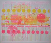 <p>Rebekka Steiger, <em>untitled</em>, 2020, tempera, ink and oil on canvas, 200 x 240 cm</p>