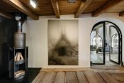 <p>Exhibition View of <em>Minestrone</em>, 2021, Ardez, Switzerland (Shao Fan, <em>Into the Chaos</em>, 2019)</p>