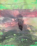 <p>Rebekka Steiger, <em>muddy waters</em>, 2021, tempera, ink and oil on canvas, 300 x 240 cm</p>