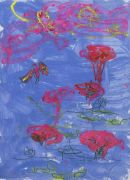 <p>Rebekka Steiger, <em>untitled</em>, 2018, gouache and pastel on paper, 57 x 39 cm</p>