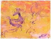 <p>Rebekka Steiger, <em>untitled</em>, 2018, gouache and pastel on paper, 58 x 76 cm</p>