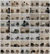 <p>Hu Qingyan, <em>Narrative by a Pile of Clay 41-80</em>,&nbsp;2011-2012, c-print, unique set of 40 photos, each 20 x 30 cm</p>