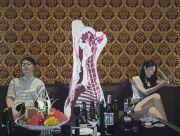 """<p>Chen Fei, <em isrender=""""true"""">Non-cooperation</em>, 2015, acrylic on linen, 180 x 240 cm</p>"""