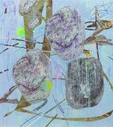 <p>Wang Shang, <em>C Rock 52</em>, 2017, acrylic, screenprint, canvas, 160 x 180 cm</p>