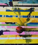 <p>高嫣(Rebekka Steiger),<em>b&eacute;ngdok</em>,2020,布面水墨蛋彩油画,240 x 200 cm</p>