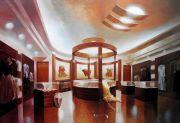 """<p>Xie Nanxing, <em isrender=""""true"""">White Asses</em>, 2011, oil on canvas, 220 &times; 325 cm</p>"""