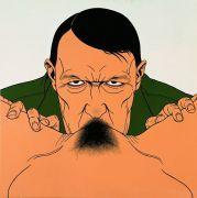 """<p isrender=""""true"""">Chen Fei, <em isrender=""""true"""">The Moustache</em>, 2007, acrylic on linen, 120 x 120 cm</p>"""
