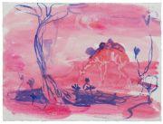 <p>Rebekka Steiger, <em>untitled</em>, 2018, gouache and pastel on paper, 29 x 39 cm</p>