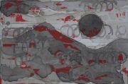 <p>Rebekka Steiger, <em>untitled</em>, 2021, ink on canvas, 30 x 40 cm</p>