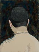"""<p>Chen Fei, <em isrender=""""true"""">His Name</em>, 2016, acrylic on linen, 40 x 30 cm</p>"""