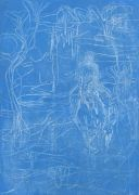 <p>Rebekka Steiger, <em>untitled</em>, 2017, tempera on canvas, 70 x 50 cm</p>