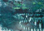 <p>Rebekka Steiger, <em>untitled</em>, 2017, oil on cotton, 170 x 240 cm</p>