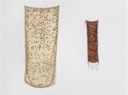 <p>Zhang Xuerui, <em>Scarf</em>, 2013, mixed materials: my used scarf, wool, left: 160 x 70 cm, right: 100 x 20 cm</p>