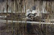 """<p isrender=""""true"""">Meng Huang,&nbsp;<em isrender=""""true"""">Distance No. 1</em>,&nbsp;2011, oil on canvas, 180 x 280 cm</p>"""