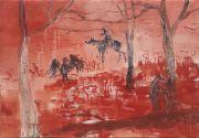 <p>Rebekka Steiger, <em>untitled</em>, 2018, oil, tempera and pastel on canvas, 170 x 240 cm</p>